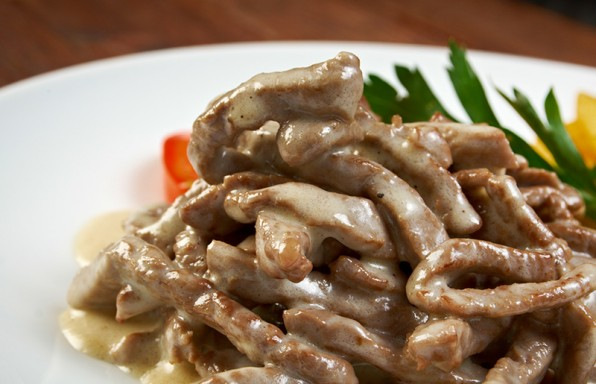 Strogonoff-de-Carne